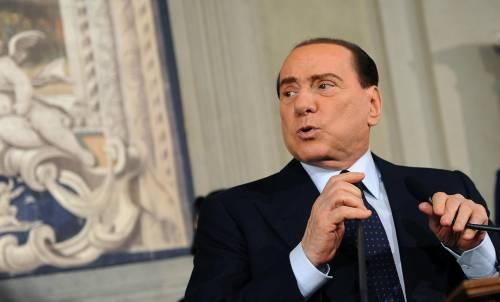 """Berlusconi: """"Contro di lui indegna lotta sinistra"""""""