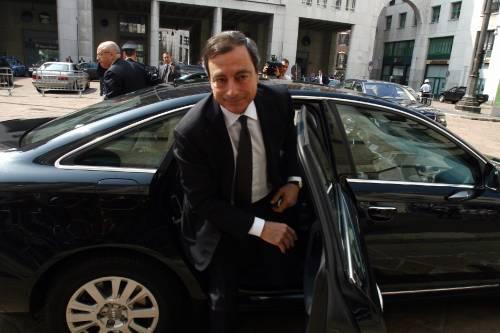 """La ricetta di Draghi: """"Meno tasse e riduzione spesa pubblica"""""""