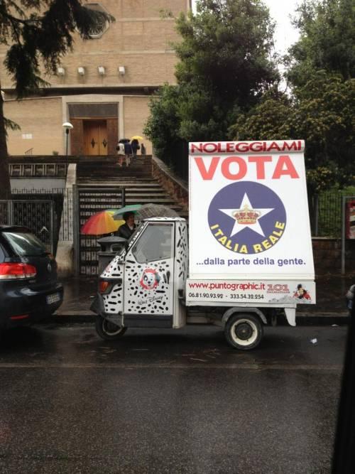 «Italia Reale», i monarchici alla conquista di Roma