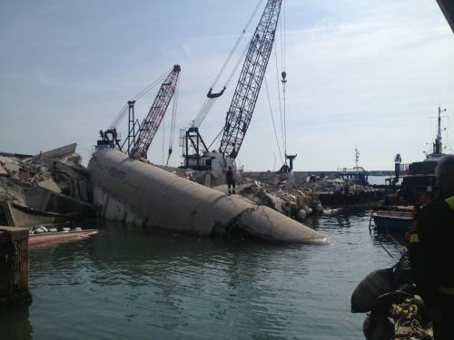 """""""Non controllo più la nave"""" La strage dopo lo schianto"""