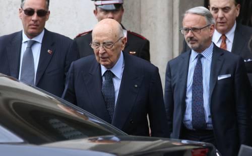 """Napolitano: """"La violenza verbale può portare all'eversione"""""""