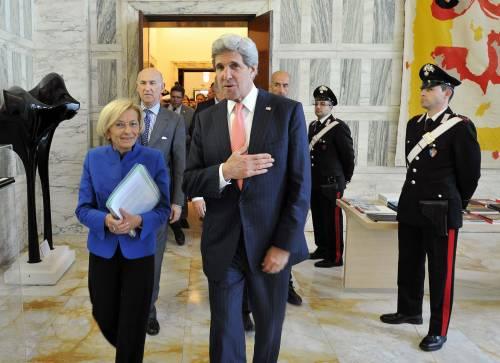 Roma e Washington d'accordo: per la Siria serve soluzione politica