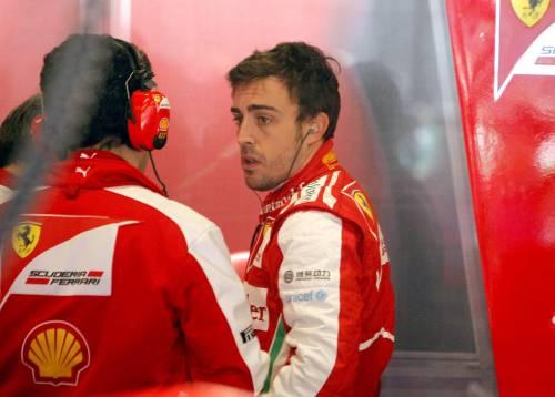 """Alonso perde la pazienza  """"Basta parlare troppo"""""""