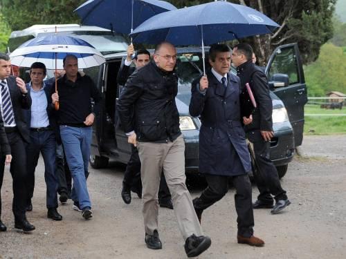 Il governo si ritira in abbazia: duro scontro tra Alfano e Letta