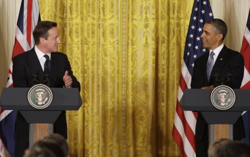 """Cameron e Obama avanti cauti: """"Più pressione per deporre Assad"""""""