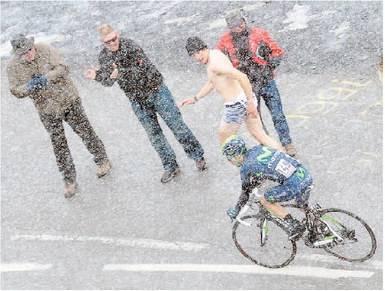 Il Galibier congela il Giro Nessuno disturba Nibali