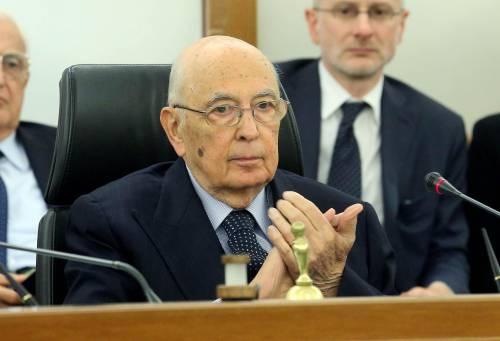 """Napolitano: """"Crisi angosciante impone soluzioni efficaci"""""""