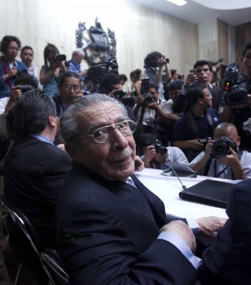 Guatemala, annullata la condanna per genocidio all'ex leader Montt