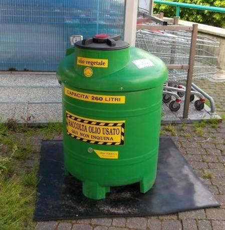 L'olio usato si ricicla nei supermercati Coop