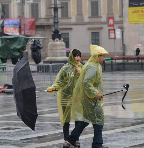 Milano si sveglia in inverno: 7 gradi