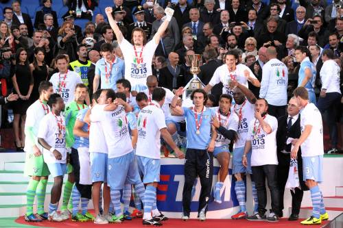 Trionfa la Lazio con Lulic. Totti ancora senza Europa