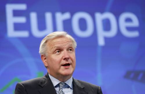 Rehn paragona l'Italia alla Ferrari, poi sbanda