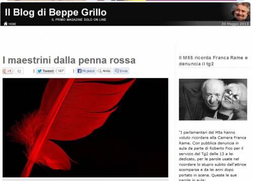 """I lettori del blog scaricano Grillo: """"Un suicidio politico"""""""