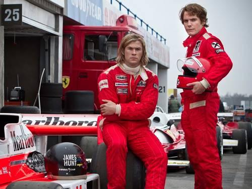 Il duello tra Lauda e Hunt in un film da Gran Premio
