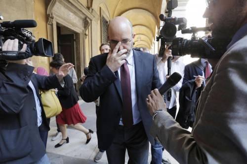 Il capogruppo del Movimento 5 Stelle a Palazzo Madama, Vito Crimi