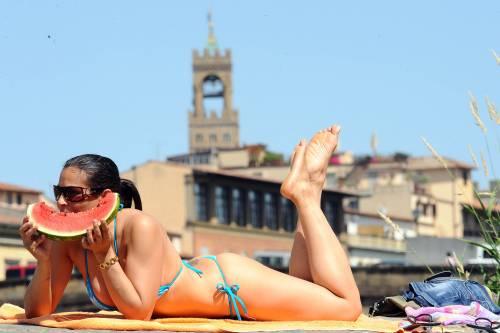 Meteo, caldo africano in Italia Allarme in 14 città
