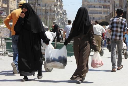 Amore e guerra ad Aleppo l'inferno delle donne italiane