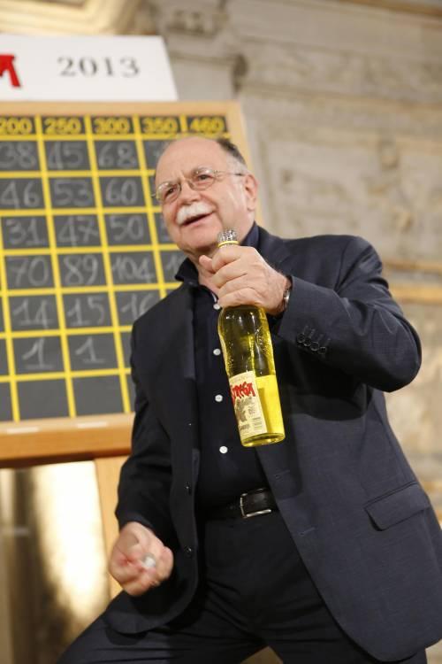 Walter Siti, vincitore del LXVII Premio Strega