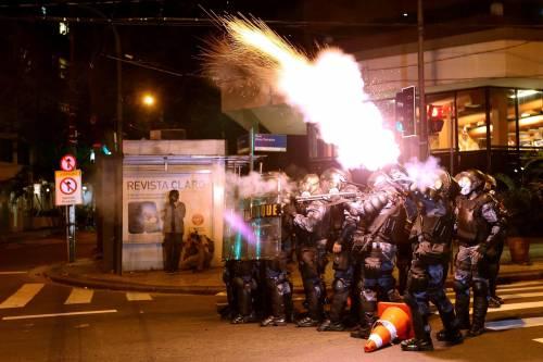 Gmg, nuovi scontri in Brasile