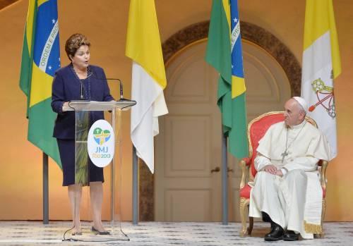 L'accoglienza del governo brasiliano