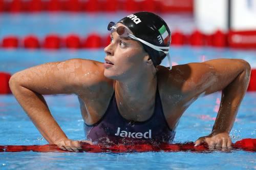 Mondiali di nuoto, Pellegrini argento nei 200 stile libero