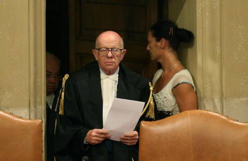 Il presidente della sezione feriale della Cassazione Antonio Esposito
