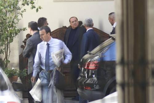 Berlusconi trasferisce la residenza a Roma