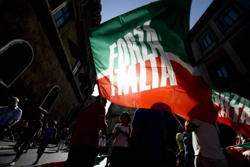 Il popolo del Pdl in piazza per Berlusconi