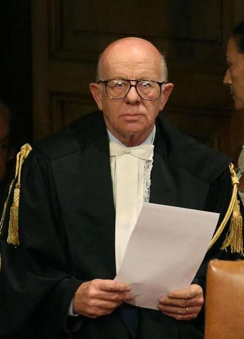 Il presidente della sezione feriale della corte di cassazione Antonio Esposito