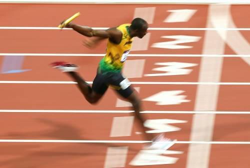 """Bolt ultimo atto 100 da re: 9""""80 «E sono felice»"""