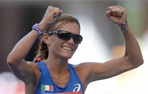 Mondiali, maratona: la Straneo è d'argento Grande prova dopo aver battuto la malattia