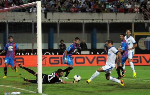 Gioco e goleada L'Inter ritorna e asfalta il Catania