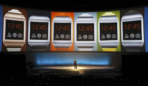 Ecco il Galaxy Gear, lo smartwatch Samsung
