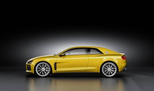 Audi: la Sport Quattro è tornata