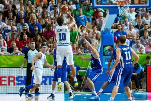 Europei Basket, Belinelli lancia in orbita una super Italia