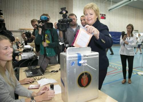 La Norvegia sceglie la Dama di Ferro