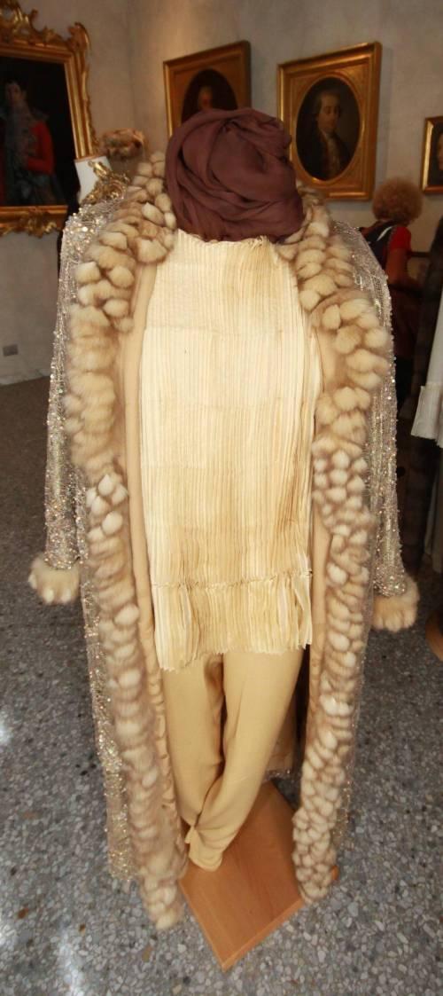 Lo stile di Valentina Cortese nei saloni di Palazzo MorandoLa mostra