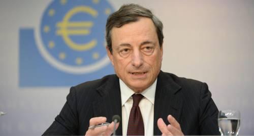 """Draghi scrive all'Ue: """"No al giro di vite sui bond bancari"""""""