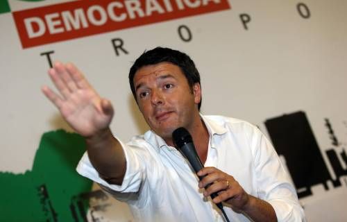 Renzi scopre le carte: vuole andare al voto