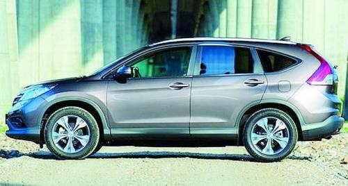 Honda Cr-V, stesso nome ma è un'altra storia