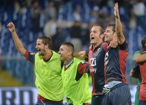 Terno secco, il Genoa delle facce nuove risorge nel derby