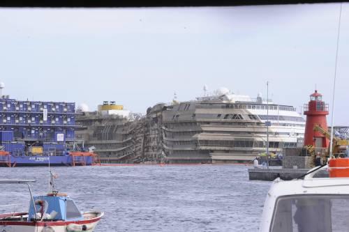 Concordia, trovati resti. Forse sono delle due vittime ancora disperse
