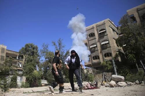 Siria, un iPad per calibrare il mortaio