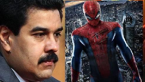 Venezuela, crociata di Maduro contro l'Uomo ragno