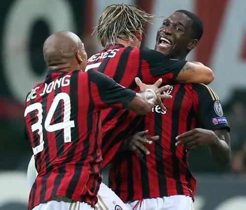 Tre minuti di sogno di un Milan da brividi