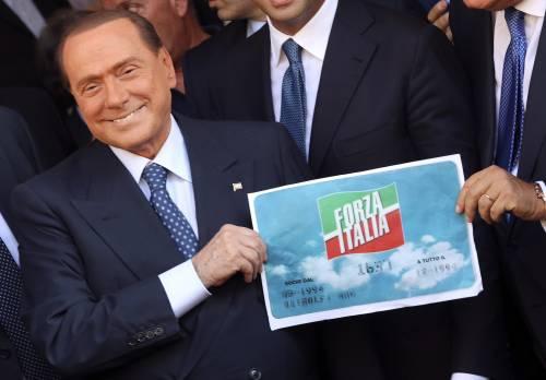 Berlusconi rilancia Forza Italia