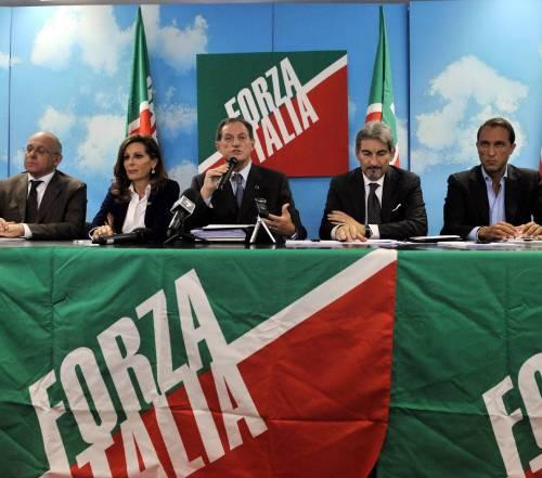 Pdl in soffitta, gruppi di Forza Italia