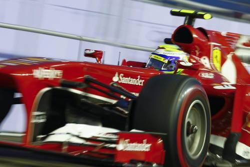 F1, Gp di Singapore Vettel è in pole Massa davanti ad Alonso