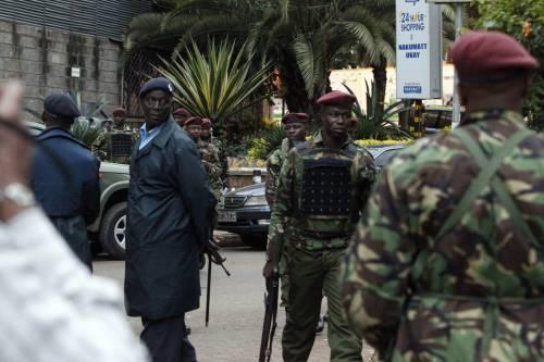 Kenya, blitz delle forze speciali nel centro commerciale