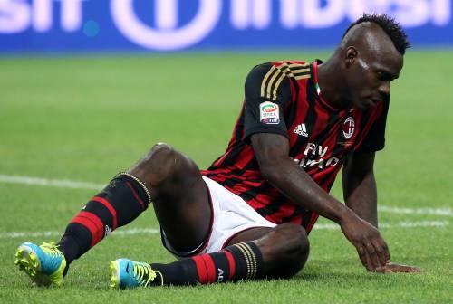 Mario sbaglia un rigore e non nasconde più tutti i guai del Milan